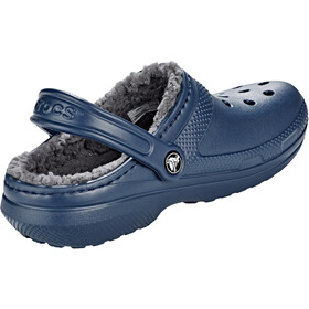 Crocs Classic Lined Clogs navy/charcoal